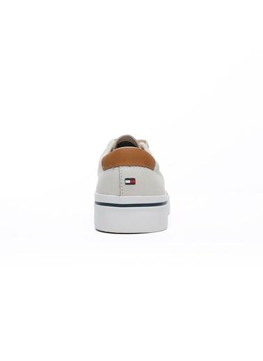 Tommy Hilfiger Erkek Cor Sneakers FM0FM02855.AA8 Beyaz